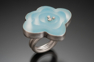 Frosted Flower Ring